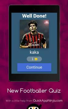New footballer Quiz screenshot 10
