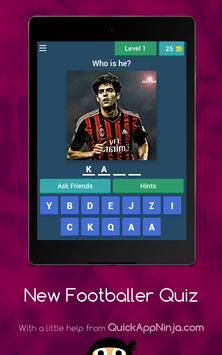 New footballer Quiz screenshot 11