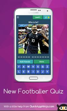 New footballer Quiz screenshot 1