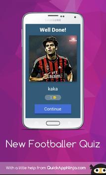 New footballer Quiz screenshot 2