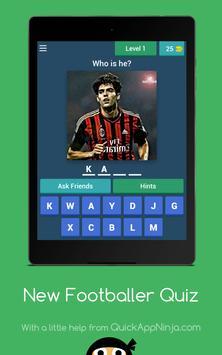 New footballer Quiz screenshot 7