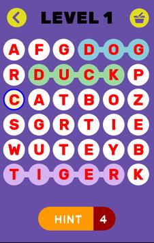 Word connect Puzzle Game poster
