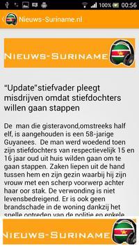 Nieuws Suriname apk screenshot