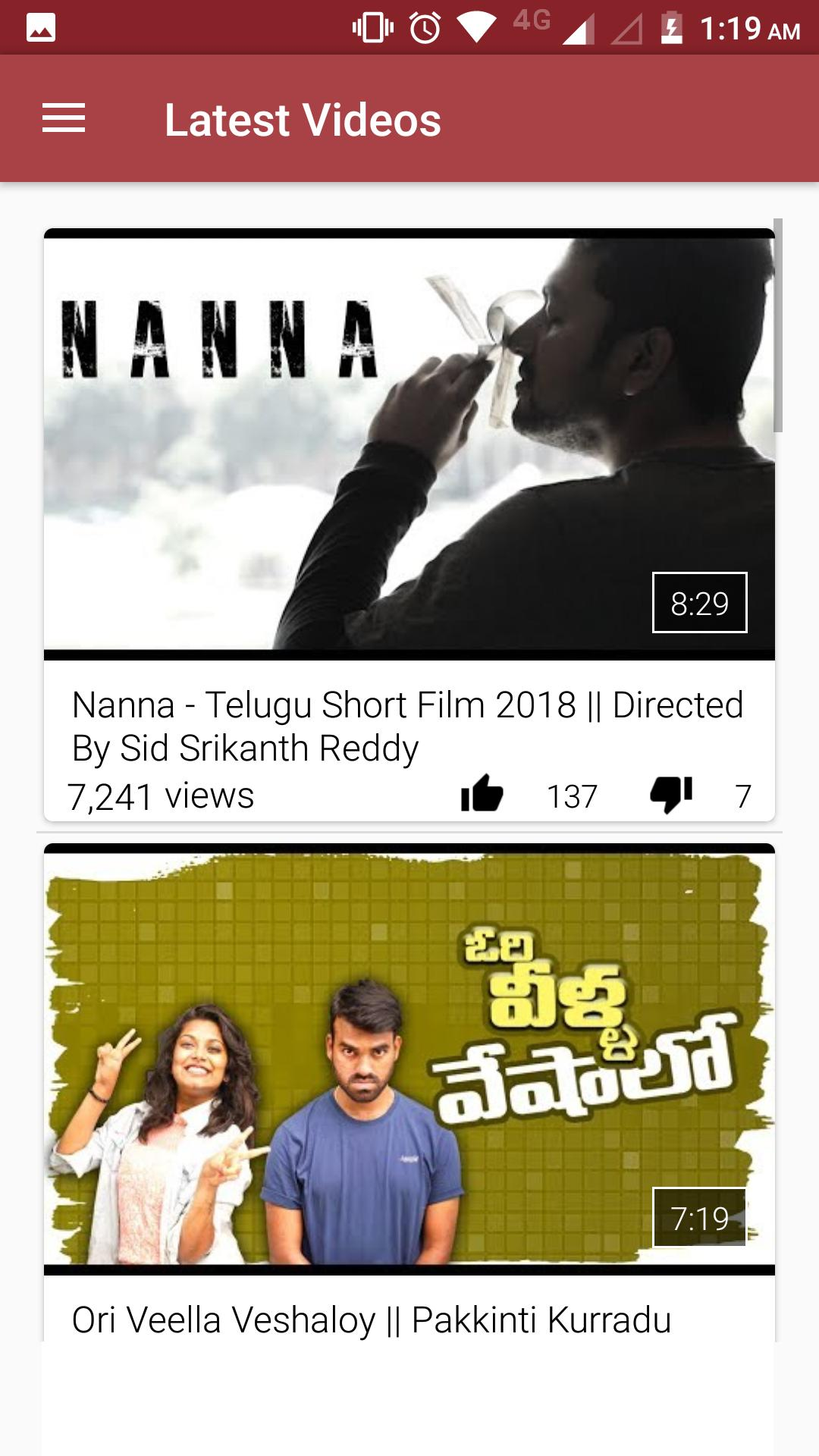 Telugu Short Films and Web Series for Android - APK Download