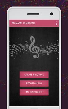 My Name Ringtone Maker screenshot 1
