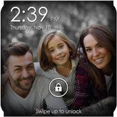 Family Photo Lock Screen icon