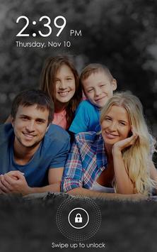 Family Photo Lock Screen poster