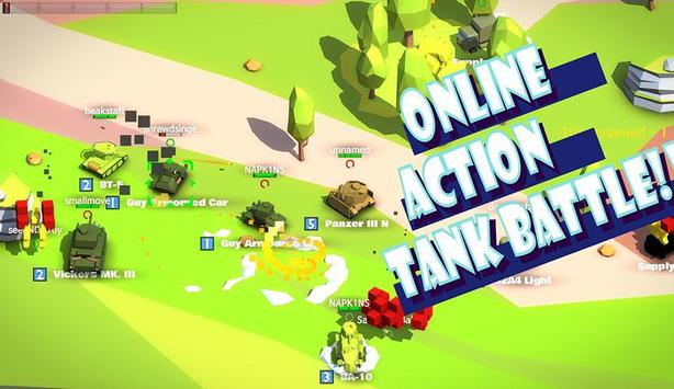 IronBlaster : Online Tank Battle apk screenshot
