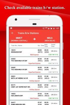 IRCTC, Spot train, PNR, seats availability : TRES screenshot 6