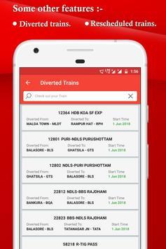 IRCTC, Spot train, PNR, seats availability : TRES screenshot 7