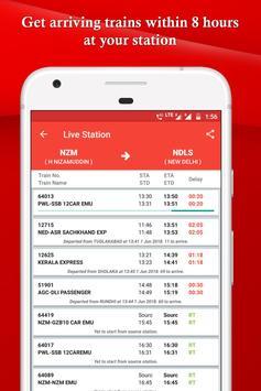 IRCTC, Spot train, PNR, seats availability : TRES screenshot 2