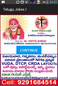 Telugu Jokes 1 poster
