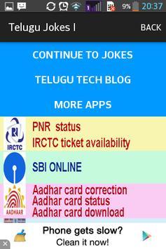 Telugu Jokes 1 apk screenshot