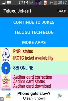 TELUGU JOKES II apk screenshot
