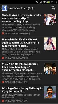 SS Music Kollywood News screenshot 7