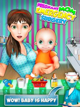 Mom Baby Emergency Pregnant Surgery Simulator screenshot 5