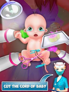 Mom Baby Emergency Pregnant Surgery Simulator screenshot 13