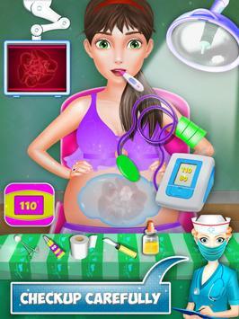 Mom Baby Emergency Pregnant Surgery Simulator screenshot 2