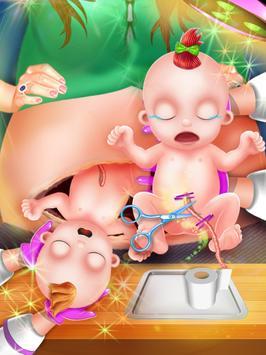 Newborn Twin Baby Mommy Pregnant Surgery screenshot 6