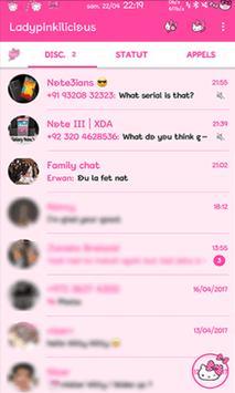 Thema WA new pink 2019 screenshot 9