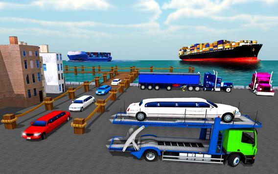 Cargo Truck Bike Car Transporter screenshot 11