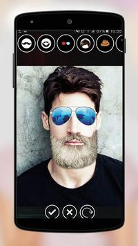 Funny Face Changer and Beard Editor screenshot 5