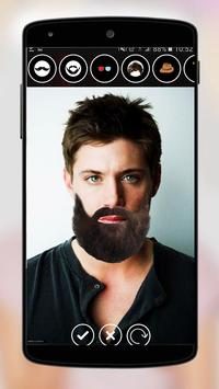 Funny Face Changer and Beard Editor screenshot 6
