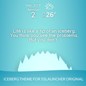 Iceberg Theme ssLauncher OR icon