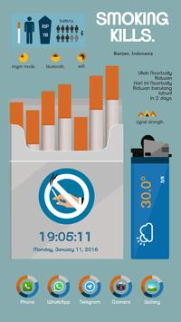 Nosmoking Theme Total Launcher poster