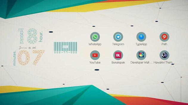 Polygoner for Total Launcher apk screenshot