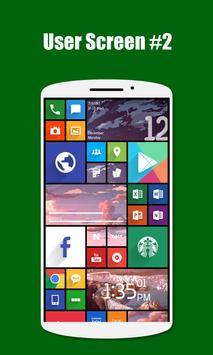 SquareHome 2 - Launcher: Windows style apk screenshot