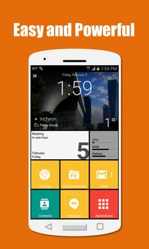 SquareHome 2 - Launcher: Windows style poster