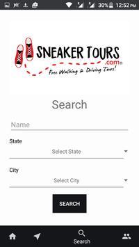 Sneaker Tours apk screenshot