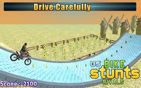 US Bike Stunts Rivals apk screenshot