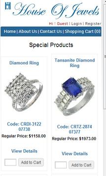 House Of Jewel Diamond Jewelry poster