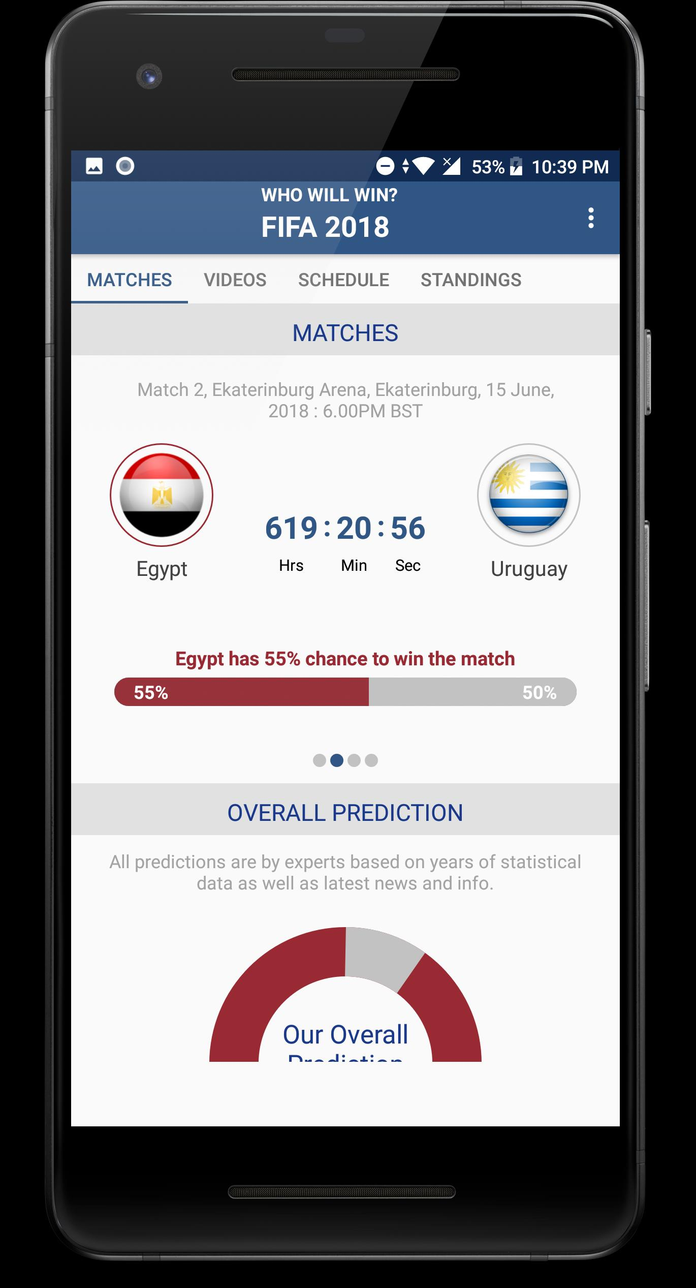 Who Will Win - FIFA World Cup 2018, Russia for Android - APK