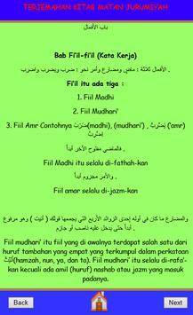 Terjemahan Matan Jurumiyah apk screenshot