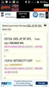 Find your train Indian Railway screenshot 2