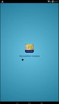 decoration recipes poster