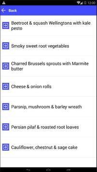 Vegetarian christmas screenshot 1