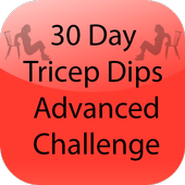 30 Day Tricep Dips Advanced icon