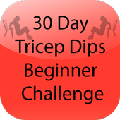 30 Day Tricep Dips Beginner icon