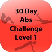 30 Day Abs Challenge Level 1 icon