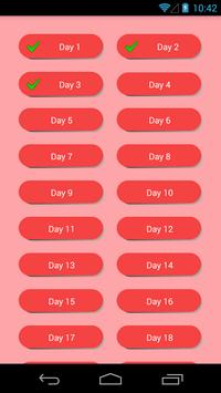 30 Day Abs Challenge Level 1 apk screenshot