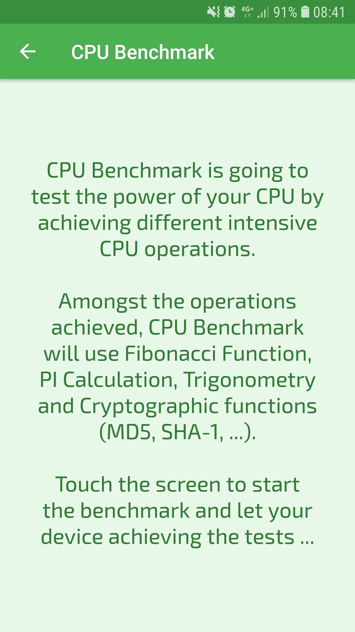 CPU Benchmark for Android - APK Download