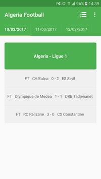 Algeria Football Ligue 1 poster