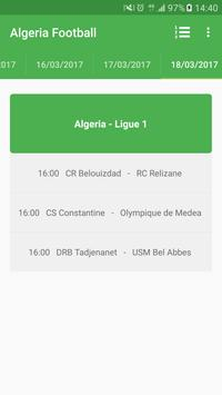 Algeria Football Ligue 1 apk screenshot