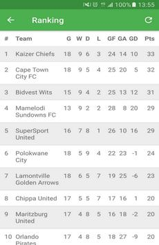 South African Premier Division apk screenshot