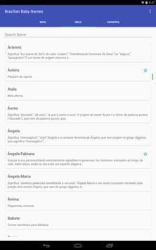 Brazilian Baby Names Meanings apk screenshot