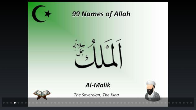 99 Beautiful Names of Allah apk screenshot
